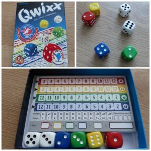 Qwixx recensie review dobbelspel white goblin games spelletje dobbelen 8+ scorekaart puntentelling scoreblokken