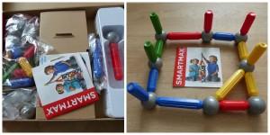 SmartMax Start Try Me 1+ recensie review speelgoed magneten bouwen kinderen inhoud doos 23 delig