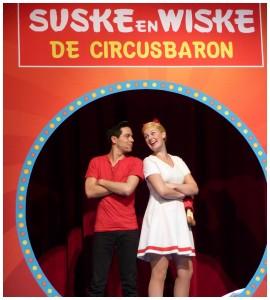 Suske & wiske de musical de circusbaron recensie review van hoorne entertainment WPG uitgeverij Music Hall Ben Cramer