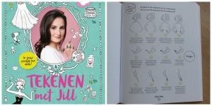 tekenen met jill jill schirnhofer review recensie leren tekenen tips tricks poppetjes meisjes kleding kapsels make-up