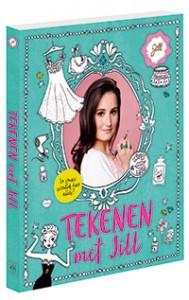 Tekenen met Jill NPO Zapp televisie programma recensie review karakter uitgevers poppetjes parfumflesjes gezicht body tekenen leren tips tricks