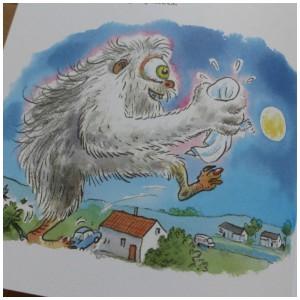 Weerwolvensoep Paul van Loon Dolfje Weerwolfje recensie review Leopold tekeningen prenten gekleurd zelf lezen elke zin nieuwe regel letterformaat