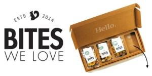 Bites We love Box tussendoortjes verantwoord gezond noten zaden gedroogd fruit superfoods chocolade box recensie review brievenbus