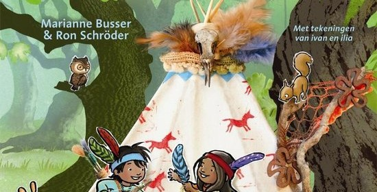 De avonturen van indi en kai twee dapppere indianenkinderen recensie review marianne busser ron schrider prentenboek voorleesboek