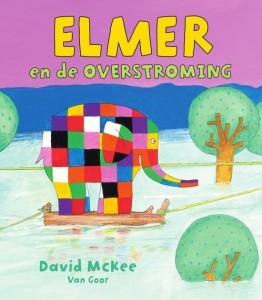 elmer en de overstroming recensie review David McKee van Goor prentenboek kluertjesolifant olifanten