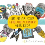 Hewt enige echte fotodoodleboek voor kids recensie review doeboek tekenen doodlelen foto's inspiratuie creativelingen BBNC het enige echte