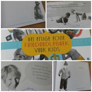het enige echte foto doodle boek voor kids recensie review BBNC tekenen foto's inspiratie creatievelingen creatief doeboek