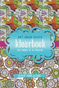 het enige echte kleurboek om samen in te kleuren kleurplaten kinderen volwassenen kleuren recensie review BBNC