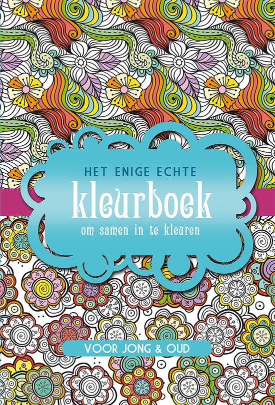 Het Enige Echte Kleurboek Om Samen In Te Kleuren Recensie