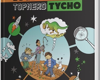 het geheime logboek van topnerd tycho evolutie geloof wetenschap oerknal corien oranje cees dekker royal jongbloed graphic-novel QR codes jeugdjournaal youtube recensie review