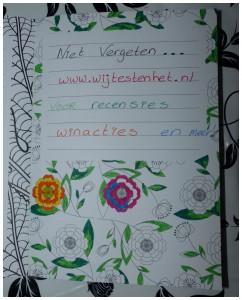 Het enige echte notitie kleurboek notitiekleurboek recensie review BBNC uitgevers kleuren krabbels