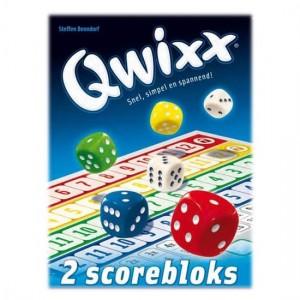 qwixx white goblin games recensie review scoreblokken los koop puntentelling dobbelspel dobbelen
