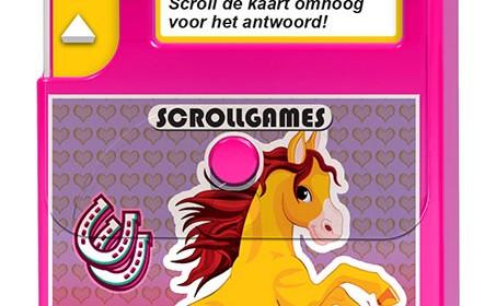 Pony's en paarden scrollgame recensie review nova carta quiz spel kaarten vragen antwoorden scrollen