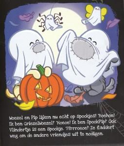 Woezel en Pip spookjes prentenboek recensie review guusje nederhorst dromenjager BV halloween sint-maarten griezelen spookfeest zelf woezel en Pip lampion maken leopold uitgeverij