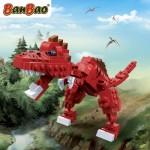 Banbao Spirosaurus dinosaurus serie bouwen bouwstenen steentjes bouwsteentjes recensie review bekende merken set dino's scherpe tanden blokjes bouwinstructie resultaat levensecht kogelgewricht