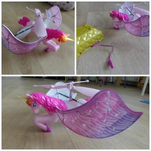 Flutterbye Flying Unicorn vliegende eenhoorn Spin Master speelfiguren batterijen magisch vliegen recensie review opladen adapter schatkist speelplezier