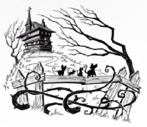 Het huis met de schuine vloeren, pratende ratten en raadsels op de muren Tom Llewellyn Holkea & Warendorf recensie review Roald Dahl 10+ geheimen zoektocht ontdekken raadsels geheimen groeipoeder kamperen veiligheid woning huis ramp