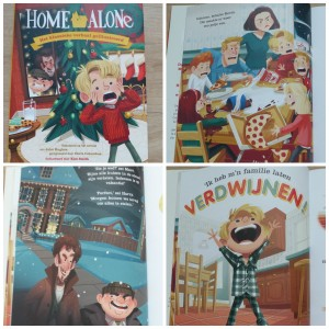 Home Alone John Huges prentenboek BBNC Kevin alleen thuis blijven Kerst Kerstmis film klassieker inbrekers recensie review