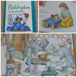 Paddington in het ziekenhuis Michael Bond prentenboek Aerial Media Company recensie review geheugenverlies rongtenfoto ambulance röntgenfoto voorbereiding onderzoeken slaapmiddel gebroken been amandelen geknipt blinde darm operatie ontspannen sfeer informatief