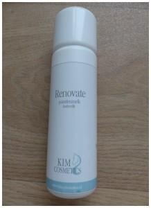 Renovate bodymilk recensie review laifline cosmetics kim cosmetics bodymelk paardenmelk biologisch afbreekbaar dierproefvrij prettige geur trekt direct in