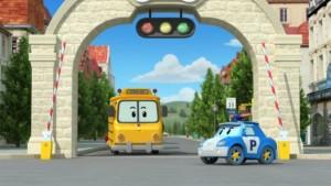 Robocar Poli DVSD reddingsteam Bezemstad animatie speelduur Just4Kids Telekids dagelijks serie televisie recensie review cadeautje voertuigen robot veilig helpen veiligheid