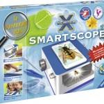 ScienceX SmartScope Ravensburger Speelgoed van het jaar 2015 nominatie educatief microscoop smartphine tablet camera foto maken delen vrienden batterijen in elkaar zetten geen app installatie tablethouder recensie review