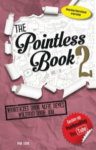 The Pointless Book 2 Alfie Deyes YA Young Adult PointlessBlog YouTube spelletjes opdrachten lijstjes tekenen recensie review Van Goor uitdaging doeboek opdrachtenboek zinloos trots niets doen