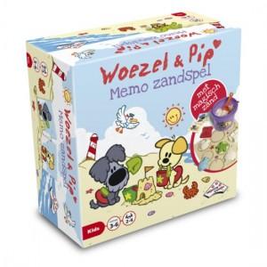 Woezel en Pip memo zandspel recensie review identity games memorie memory magisch speelzand binnen zandvormpjes emmertje spinner pletten schepje zandvormpjes