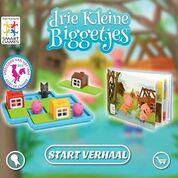 Drie kleine biggetjes App SmartGames e-book Speelgoed van het Jaar Nederland België informatie Playstore Google App-store Apple download
