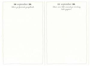 Elke dag een tekening Elke dag dagboeken Elke dag een zin 1 jaar 5 jaar creatief dagboek tekening woorden tekenopdrachten jaarwisseling voornemen huis bucketlist hart vanavond collega's dagboek opdrachten recensie review BBNC