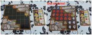 Out of mine 10+ the Game Master borspel Tetris winactie spellenpakket winnen mijn kristallen snelheid puntentelling speelrondes punten opbrengst week schatkaart review recensie