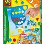 SES Ik leer vormen herkennen 3+ kleurplaten stickers plakken vormen herkennen kleuren plakken knutselen educatief leerzaam recensie review tussenschoolse opvang kleuters peuters