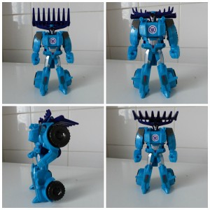 Transformers RID Thunderhoof Mega Optimus Prime 1 stap autobot speelfiguur app Robots in Disguise aantrekkingskracht simpele stap Hasbro recensie review auto wagen robot