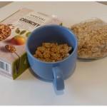 Verival Crunchy Cruesli Sinaasappel muesli ontbijtgranen Jumbo Supermarkten DEEN supermarkten Jumbo Supermarkten recensie review toevoegingen sinaasappelsmaak tussendoor formaat knapperigheid smaakaccenten sinaasappel(schilletjes) ingrediënten