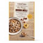 Verival Muesli Oergranen met noten recensie review Jumbo Supermarkten Deen supermarkten ontbijt ontbijtgranen mueslivariant hazelnoten amandelen zonnebloemzaden vers fruit yoghurt kwark melk