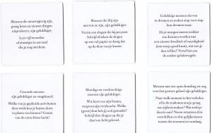 De Geluksvogels Leo Bormans Sebastiaan van Doninck Kind & jeugd spel geluksopdrachten opdrachten spel doelen relaties openheid en zingeving opmerken en waarderen mezelf zijn geven emoties lichaam uitproberen kracht Lannoo recensie review