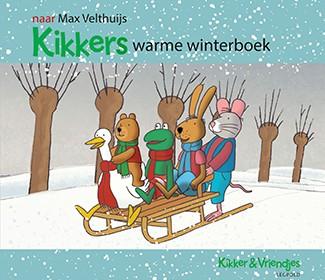 Kikkers warme winterboek Max Velthuijs prentenboek Leopold Kikkers en zijn vriendjes sneeuw sneeuwpop kou Nieuwjaar vieren Kikker en de sneeuwman Kikker en het Nieuwjaar recensie review