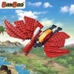BanBao Pterosaur (6861) Ptersosaurus dinosaurus dino recensie review bouwstenen lego bouwblokjes dinosaurusserie serie vliegende dino dinosaurusrijk onderdelen bouwinstructie overzicht vleugels spanwijdte zweeft geland aanrader dino-fans