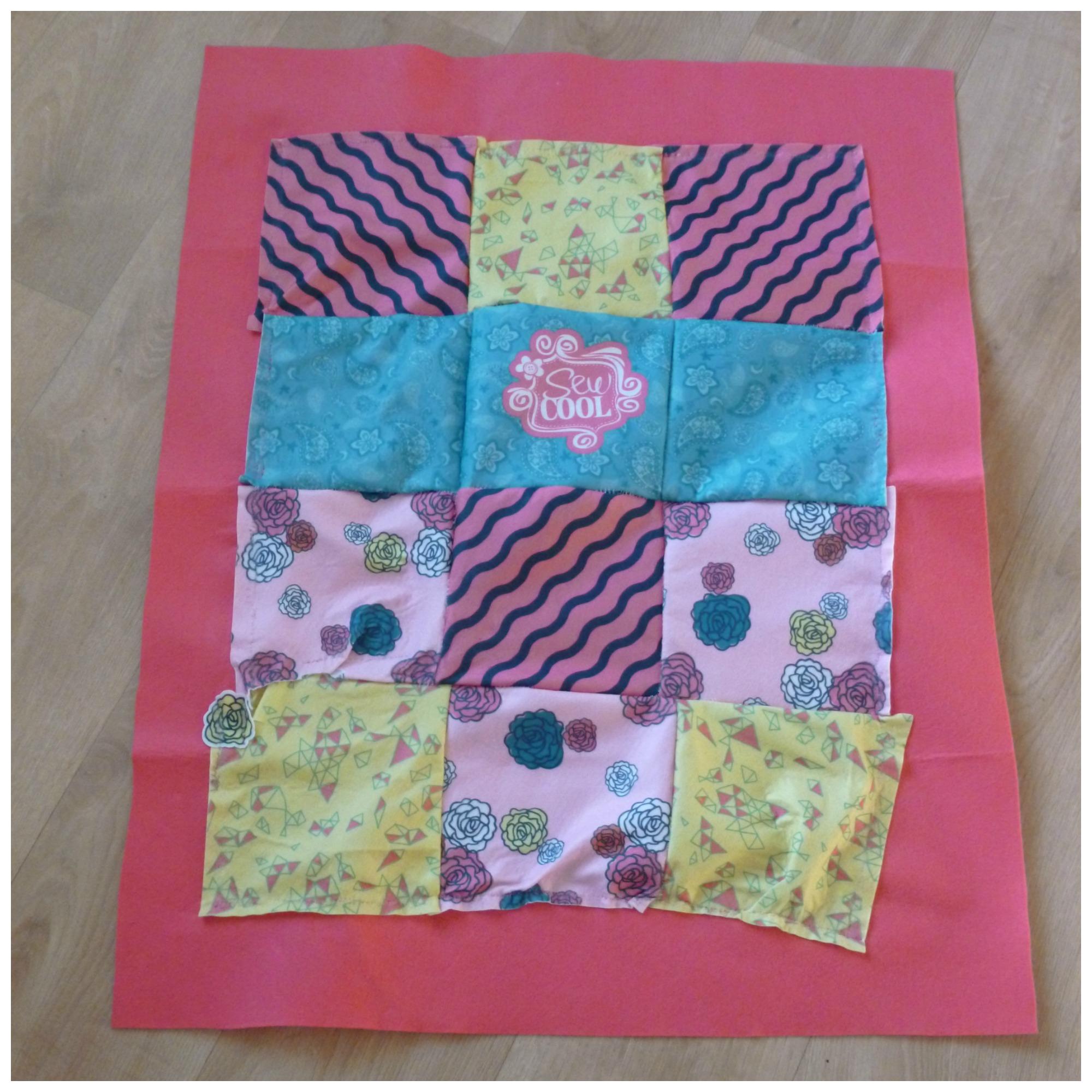 Sew cool cozy quilt recensie wij testen het for Quilt maken met naaimachine