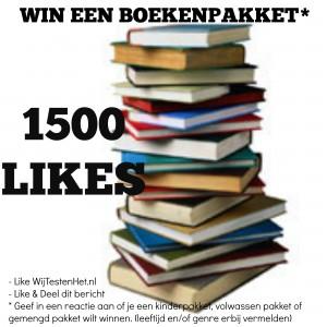 winnen winactie boekenpakket lezen boeken kinderboeken volwassen genre leeftijd 1500 likes facebook maak kans win een boekenpakket naar keuze