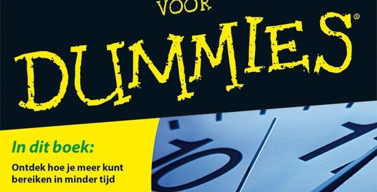 Timemanagment voor Dummies Dirk Zeller BBNC managment tijd tips tricks email facebook twitter LinkedIn social media accounts huishouden druk gevlogen affectiever efficiënt recensie review