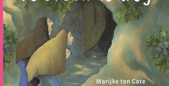 De steen is weg Corien Oranje Marijke ten Cate Royal Jongbloed recensie review Pasen Paasverhaal lijden wederopstanding Jezus peuters kleuters kartonboekje rijm gedichtjes prenten illustraties tekeningen verhaal toegankelijk voorlezen