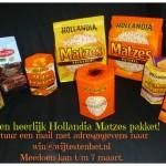 Hollandia Matzes Pakket winactie Pasen Win een Hollandia Matzes Pakket winnen