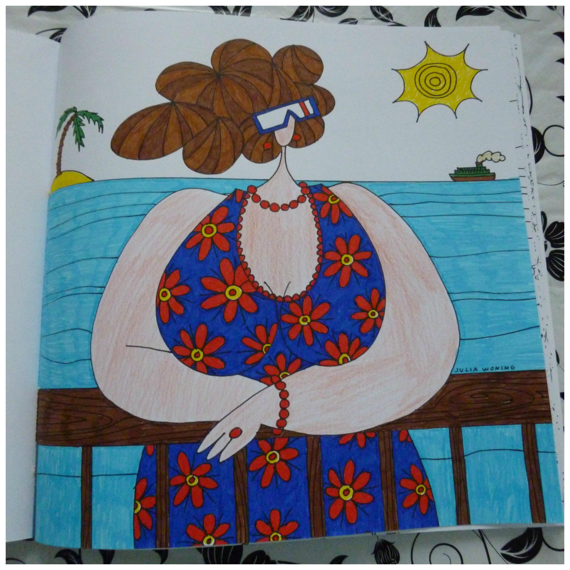 Kleurplaten Voor Volwassenen Op Reis.Het Enige Echte Dikke Dames Op Reis Xxl Kleurboek Recensie