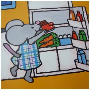 Het huis van Fien en Milo Pauline Oud recensie review Clavis prentenboek peuters kleuters verhuizen nieuw huis spullen woonkamer slaapkamer badkamer plek keuken gasfornuis koelkast laarsjes herhaling schaterlachen kleren douche plezier herinneringen koesteren
