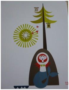 Het sprookjesboek van Isak Sandra Isaksson voorleesboek sprookjesboek sprookjes volksverhalen illustrator vormgever recensie review sfeer vernieuwend verhalen roodkapje de vos en de haas mijn opa is een visser Ali Baba Goudlokje een dag in Tingleby Hans en Grietje Hiawatha tekeningen huizen sprookjesboeken waard enthousiast tekeningen verhalen boek uitgeverij SNOR