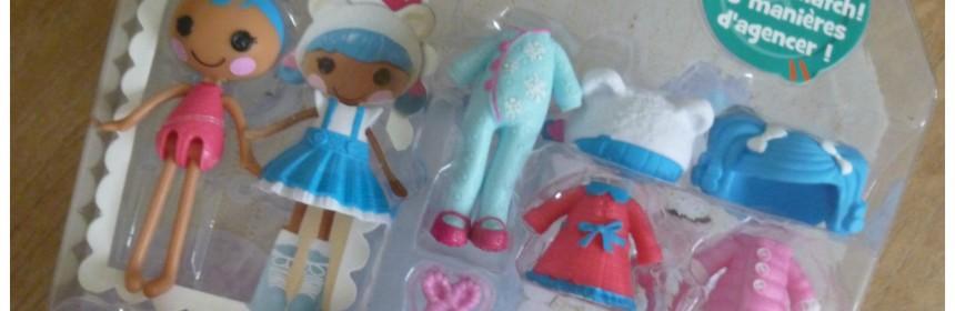 Winactie Doe mee en win kans winnen Lalaloopsy Mini Style 'n Swap Lalaloopsy Mini Mittens Fluff 'n Stuff mail speelset combineren combinaties kapsel outfit verloten