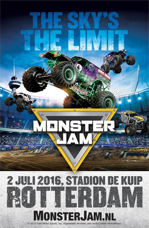 Monster Jam 174 Nog Groter En Spectaculairder In Rotterdam