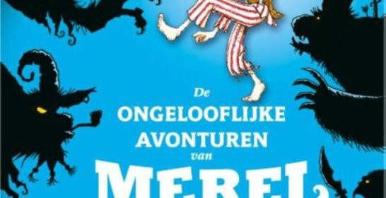 De ongelooflijke avonturen van Merel Jansen Will Mabbitt piraten avontuur spannend humor actie letterformaat De Woeste Made schip schat bemanning monsterlijke wezens Kluitman recensie review