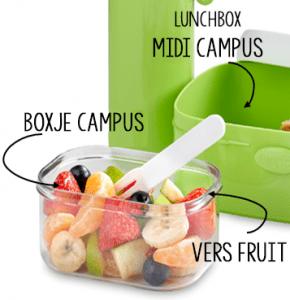 MyMepal Campus Boxje Campus Midi Lunchbox lunchtrommel broodtrommel recensie review kortingscode bakje in broodtrommel gepersonaliseerde lunchtrommel Mepal Campus Midi